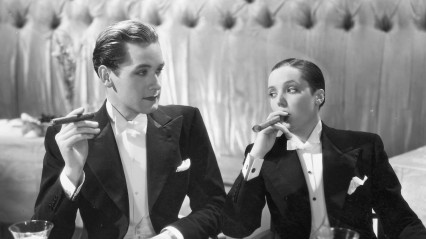 Griffith Jones and Jessie Matthews in First A Girl
