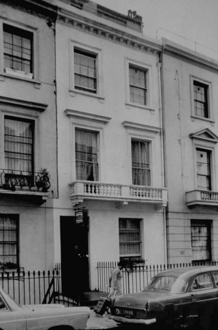 The Pax Hotel, 126 Warwick Way in 1968