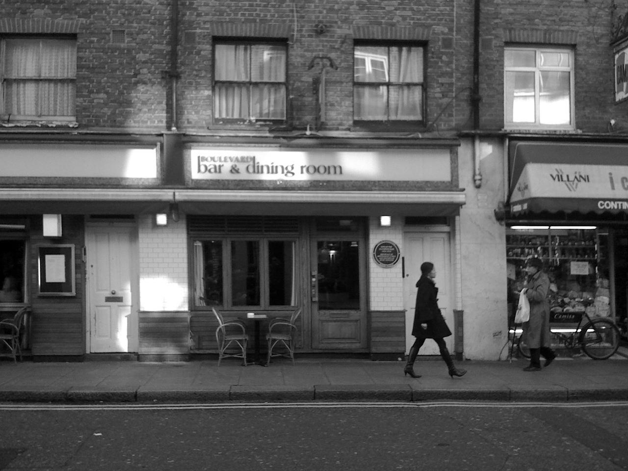 Soho and the 2 i's coffee bar ...