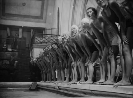 Auditions for Cinderella at Marshall Street Baths 9th November 1934