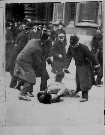 Black Friday: This was the first time that Suffragette protests were met with violent physical abuse, however it was generally supported by the British population, who at the time were relatively opposed to women's franchise. Two women died as a result of police violence, and around two hundred women were arrested.