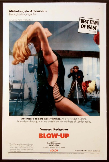 Poster for Blow-Up, released in 1967.