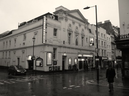 The Comedy Theatre in Panton Street, January 2010