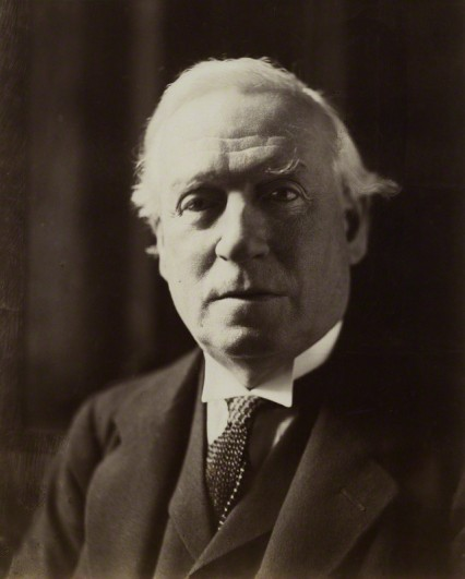 Herbert Henry Asquith in 1910 around the time of Black Friday.
