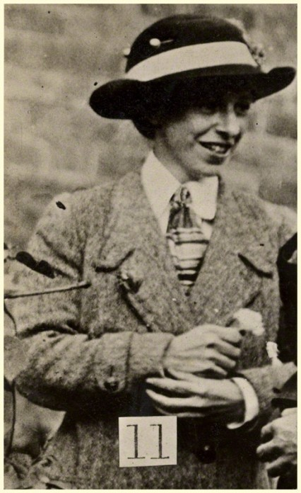 Mary Richardson, 1914.