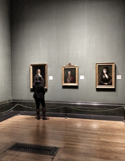 Goya's portrait of the Duke of Wellington on display in the National Gallery in 2014.