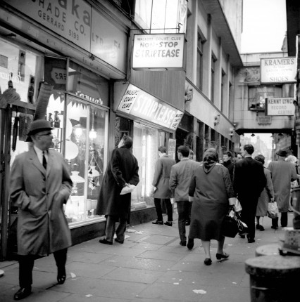 Walker's Court in Soho, March 15th 1966.