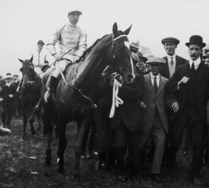 Aboyeur, the eventual winner of the 1913 Derby