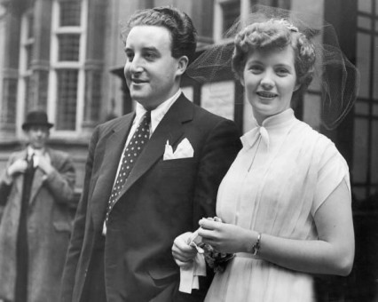 Peter Sellers and Anne Howe, 15th September 1951
