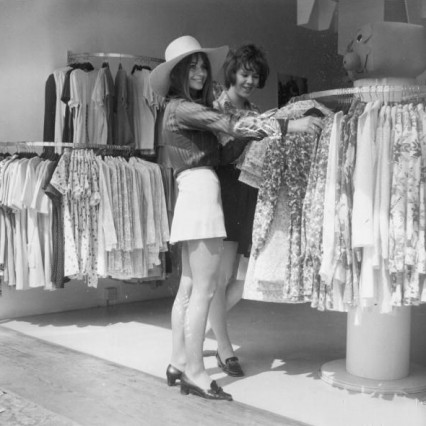 Boutique shopping on the Kings Road 1968