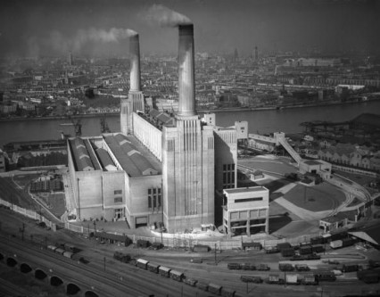 Battersea Power Station 'A' 11th May 1934