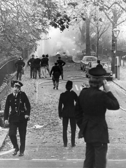 IRA explosion on Campden Hill Square