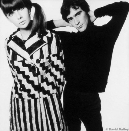 Chrissie Shrimpton and Ossie 1965 by David Bailey