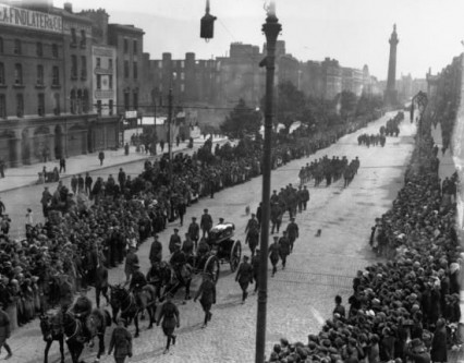 Michael Collins' funeral, O'Connell Street August 1922