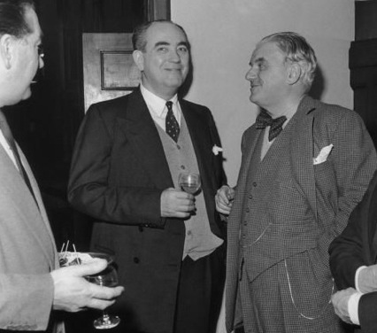 Tom Driberg and Lord Boothby