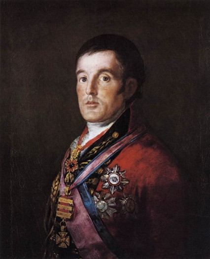 Goya's portrait of the 1st Duke of Wellington, then a mere Earl.