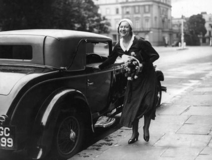 Elvira Barney after her trial in 1932