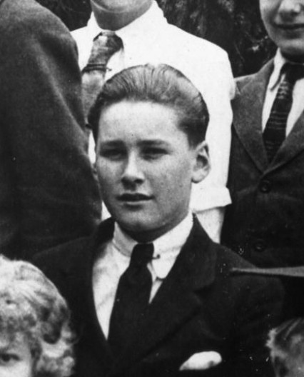 Errol Flynn at the South West London College circa 1923