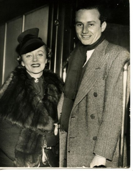 Evelyn Laye and her second husband Frank Lawton