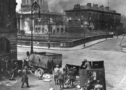 The Four Courts siege, Dublin 1922