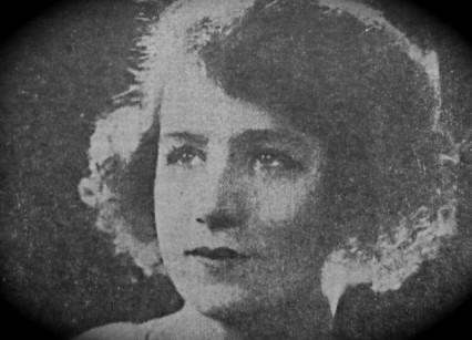 Freda Kempton in 1922