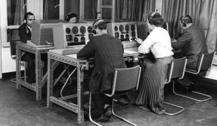 Air Traffic Control at Heathrow in 1968