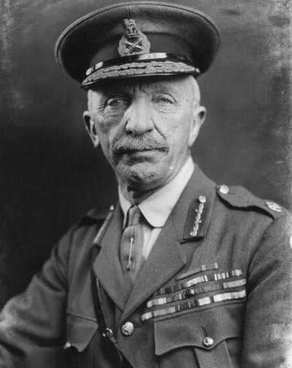 Henry Hughes-Wilson in 1918