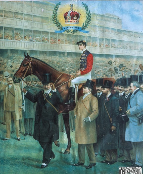 The epsom derby and the deaths of emily wilding davison and herbert herbert jones wearing the kings colours fandeluxe Images