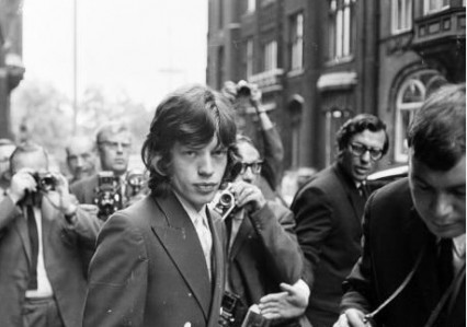 Mick Jagger at he Appeals Court 31st July 1967