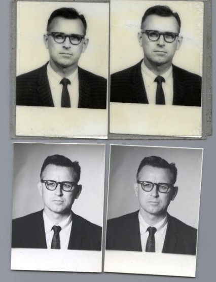 James Earl Ray's passport photos