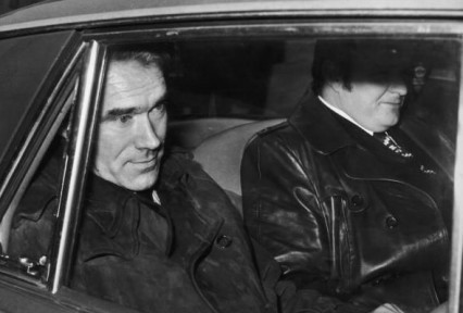 James Humphries after his arrest, January 1974