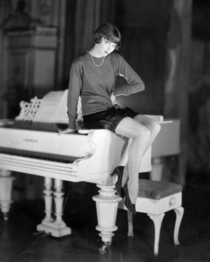 The starlet Jessie Matthews in 1927