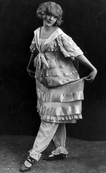 Jessie aged 16 appearing in the Music Box revue