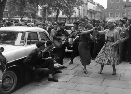 Soho Square 1956