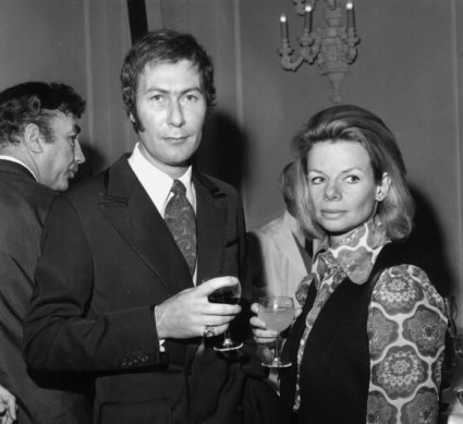 John Osborne and Jill Bennett in 1969