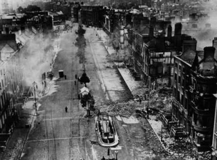 Sackville Street, Dublin 1922