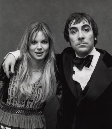 Keith Moon with Annette Walter Lax 1977