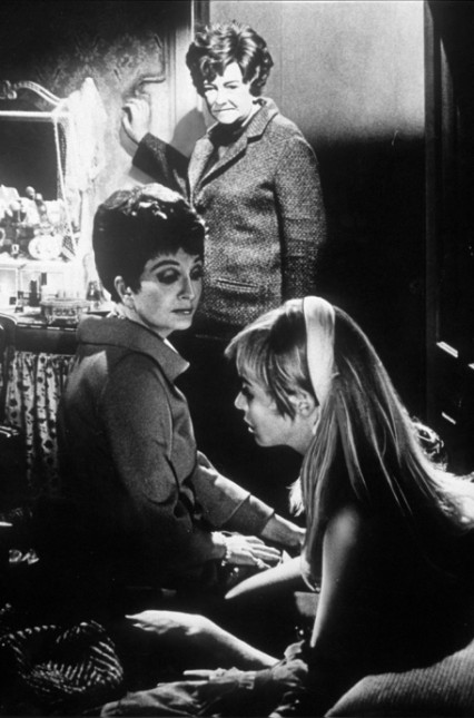 Coral Browne, Beryl Reid and Susannah York