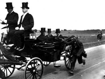 king-george-v-in-carriage