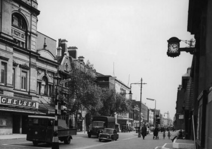 Kings Road in 1958
