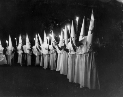 The torch-lit procession, 8th October 1951