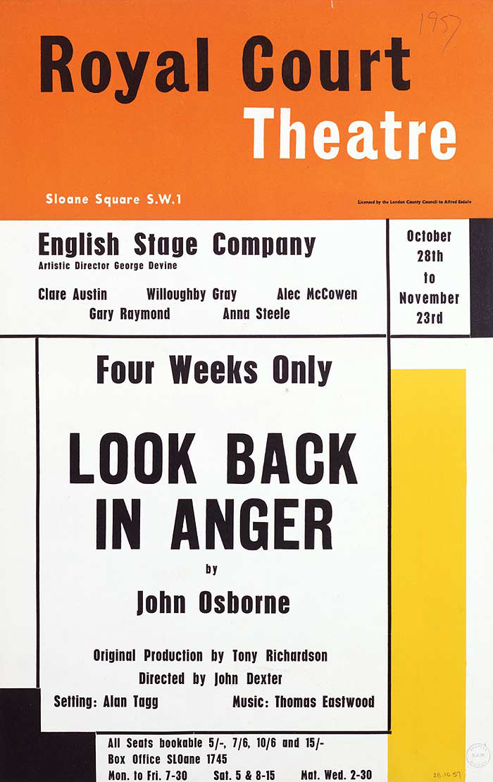 Kitchen Sink Drama In Look Back In Anger