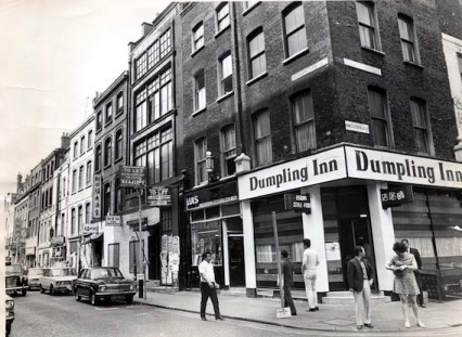 Macclesfield Street in 1972