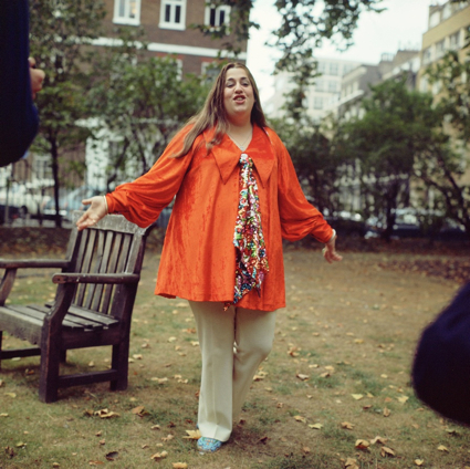 Mama Cass in Soho Square 1969