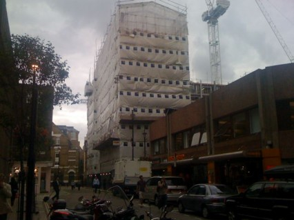 Marshall Street, July 2009