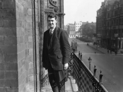 Michael Collins in London October 1921