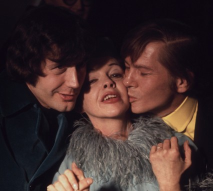 Mickey Deans, Judy Garland and Johnnie Ray at Chelsea Registry Office, March 1969