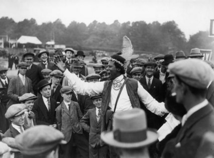 Prince Monolulu at the Epsom races in 1927