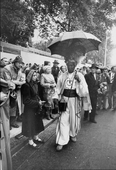 Monolulu at the Queen's coronation 1953