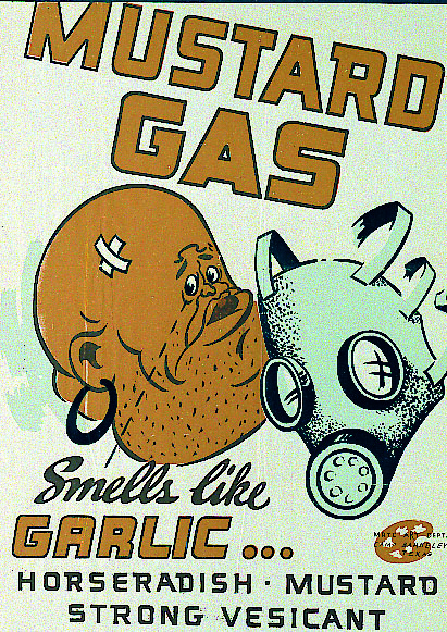mustard-gas-smells-like-garlic